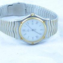 Ebel Classic Wave Herren Uhr 37mm Stahl/gold Klassische Uhr