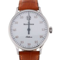 Meistersinger Salthora 40 Automatic White Dial