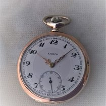 Lanco vintage silver watch, in very good working condition