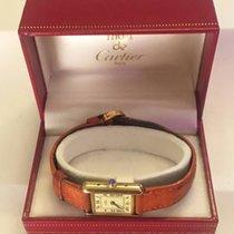 Cartier TANK MUST PETIT MODELE VERMEIL QUARTZ 1989