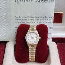 Rolex Ladies President Datejust 69258 18k Yellow Gold Original...