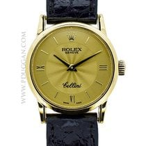 Rolex 18k yellow gold Cellini
