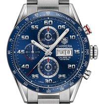 TAG Heuer Carrera Calibre 16 Chronograph  Blue Dial CV2A1V