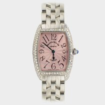 Franck Muller Cintree Curvex Steel Custom Diamond Setting