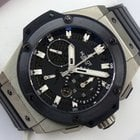Hublot King Power Split Seconds Zirconium - Box & Papiere