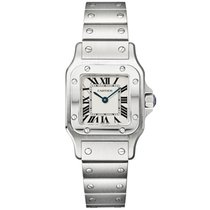 Cartier Santos Galbee Small Stainless Steel