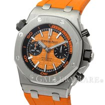 오드마피게 (Audemars Piguet) Royal Oak Offshore Orange Dial Diver...