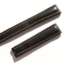 Μπρέιτλιγνκ  (Breitling) Band 18mm Kalb Schwarz Black Calf...