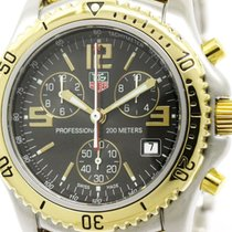 TAG Heuer Rare Tag Heuer Link Professional Chronograph 18k...