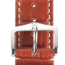 Hirsch Viscount Lederband L rot matt L 22mm 10270729-2-22