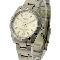 Rolex Unworn 177210 Oyster Perpetual No Date in Steel with...