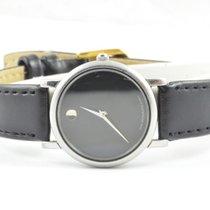 Movado Damen Uhr 25mm Stahl/stahl Museum Watch Rar Stahl/stahl...