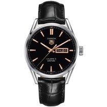 TAG Heuer Carrera  Black Dial Men's WATCH WAR201C.FC6266