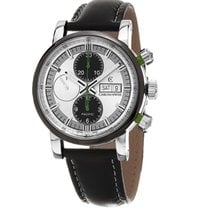 Chronoswiss CH-7585B-SI Pacific Chronograph in Steel - On...