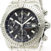Breitling Polished Breitling Chronomat Evolution Steel...