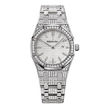 Audemars Piguet Watches - Royal Oak Quartz 33mm - White Gold -...