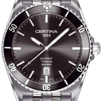 Certina DS First Ceramic Herrenuhr Titanium C014.410.44.081.00