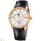Ulysse Nardin Classico Luna Rose Gold 18K Diamonds Bezel...
