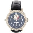 Dewitt Men's DeWitt Academia Double Fuseau 18K White Gold...