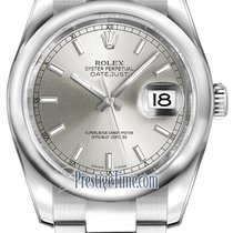 Rolex Datejust 36mm Stainless Steel 116200 Silver Index oyster