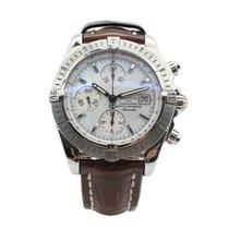 브라이틀링 (Breitling) Steel Breitling Chronomat Evolution Watch...