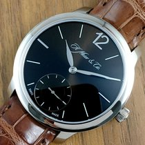 H.Moser & Cie. New With Tags 2016 White Gold Mayu Small...