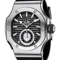 Bulgari BRE56BSVDCHS Endurer Chronosprint in Steel - on Black...