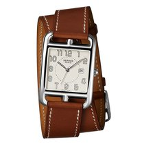 Hermès Cape Cod Quartz Medium GM Ladies Watch Ref CC2.710.220/...