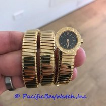 Bulgari Tubogas 18k Yellow Gold Ladies Pre-owned