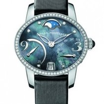 Girard Perregaux Cat's Eye 18K White Gold & Diamonds...
