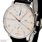 IWC Portugieser Chronograph Ref-IW371401 Stainless Steel Box...