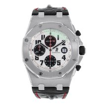 Audemars Piguet AP Royal Oak Offshore Panda Chronograph on...