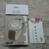 "天梭 (Tissot) kit complete warranty paper and booklet ""sover..."