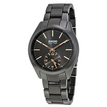 Rado Hyperchrome Dual Timer XL Touch Grey Ceramic Men's Watch