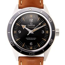 Omega Seamaster Stainless Steel Black Automatic 233.32.41.21.0...