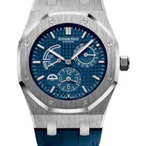 Audemars Piguet Royal Oak Dual Time Stainless Steel Men's...