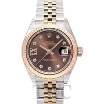 Rolex Lady Datejust 28 Chocolate 18k Everose gold/Steel G 28mm...