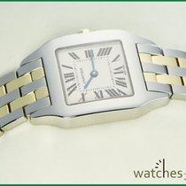 Cartier Santos Demoiselle Steel Gold Santos Medium Size 2701