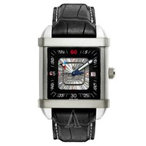 JeanRichard Men's Paramount Time Square Watch