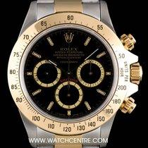 Rolex S/G  Rare Floating Dial Zenith Movement Daytona B&P...