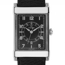 Eterna 1935 Les Historiques Stahl Automatik Armband Leder...