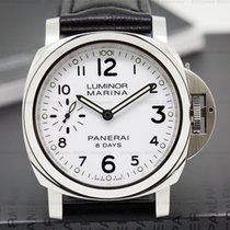 Panerai PAM00563 Luminor SS White Dial 44MM 8 Days (26277)