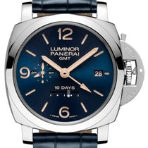 沛纳海  (Panerai) LUMINOR PAM 689 SUNBURST BLUE DIAL