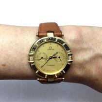 Omega Constellation 18k Yellow Gold Ladies/unisex Watch W/...