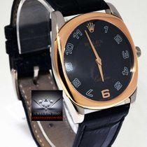 Rolex Cellini Danaos 18k White Rose Gold Manual Mens Watch...