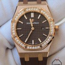Audemars Piguet 67651OR.ZZ.D080CA.01 ROYAL OAK 33mm Rose Gold...