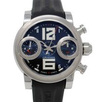 Graham Swordfish 2SWAS Chronograph steel black dial WHIT PAPER