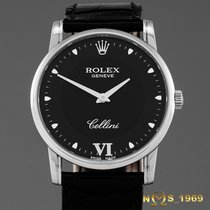 Rolex Cellini 18K White Gold Box Papers