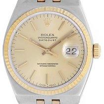 Rolex Oysterquartz Datejust 2-Tone Steel & Gold Men's...