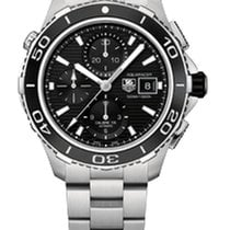 TAG Heuer AQUARACER 500M AUTOMATIC CHRONOGRAPH BLACK DIAL